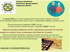 21 fin 300x223 - Головне управління Пенсійного фонду України в Одеській області продовжує фінансування пенсій