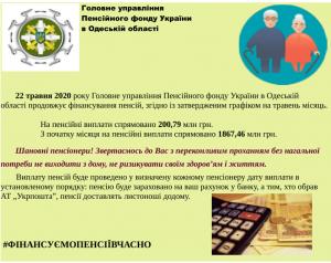 22 finansuvannya 300x238 - Головне управління Пенсійного фонду України в Одеській області продовжує фінансування пенсій