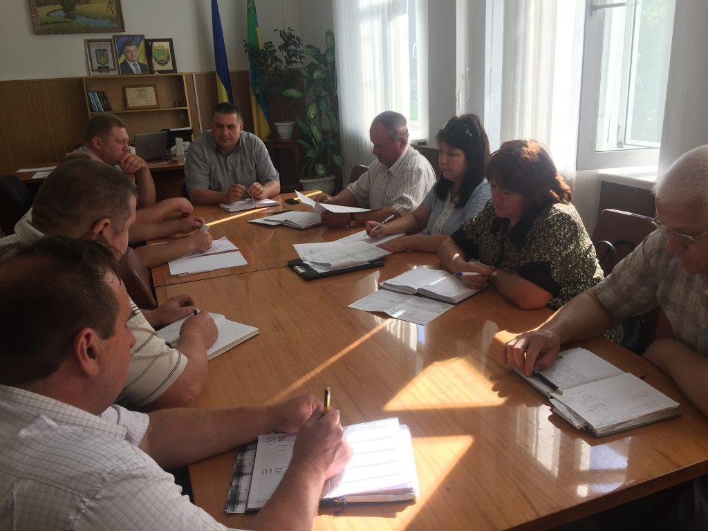 Sosnytsya komysyya foto 1024x768 - У Сосниці відбулося засідання комісії з питань легалізації заробітної плати