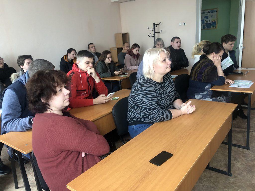 IMG 4648 1024x768 - Студентів знайомлять  з новими можливостями Пенсійного фонду України