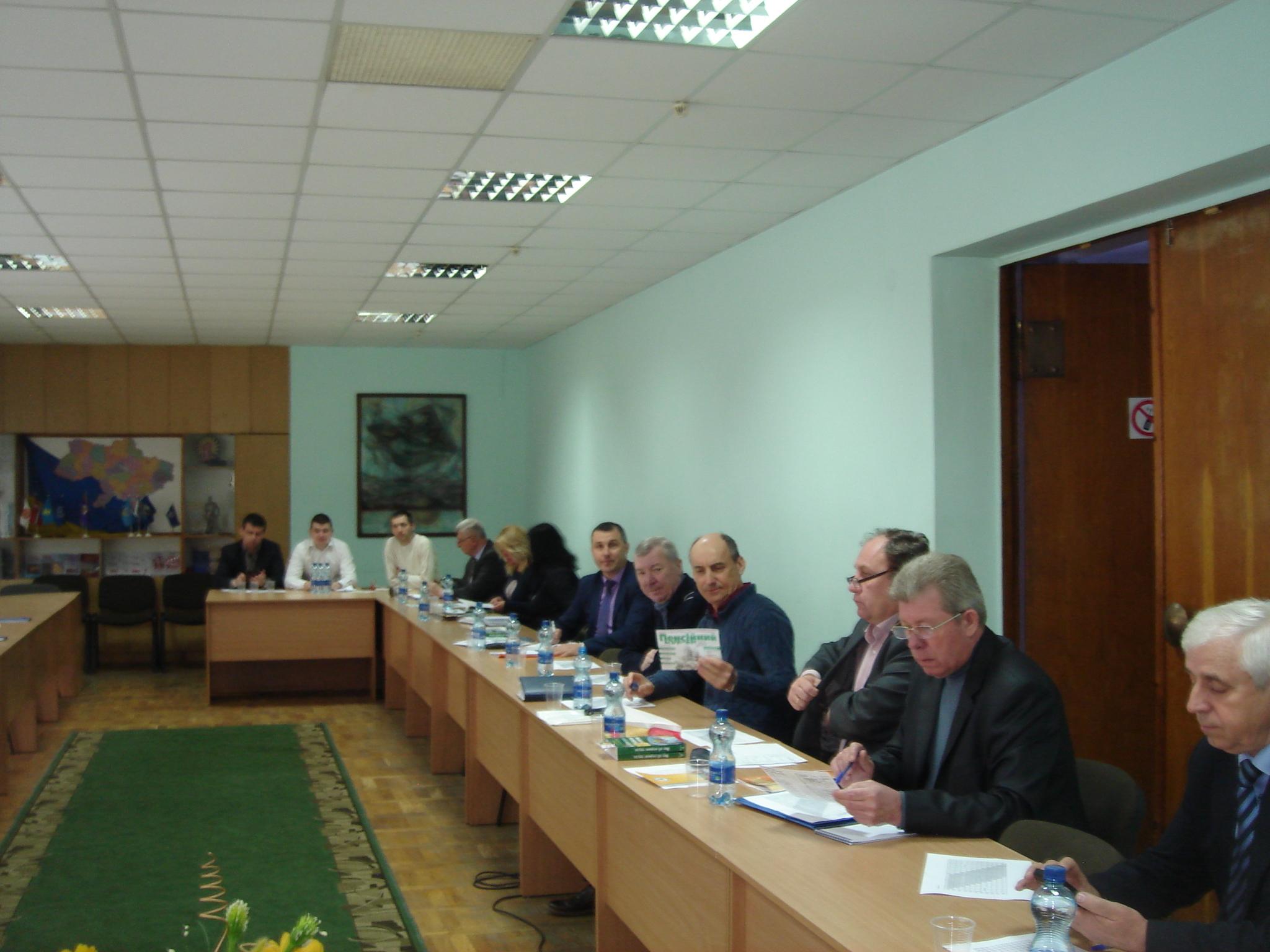DSC09114 - Семінар для трудящих металургійної і гірничої промисловості у м. Дніпро
