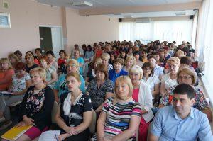 DSC07859 300x199 - Пенсійники Дніпропетровщини обговорили результати діяльності