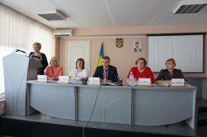 DSC07877 300x199 - Пенсійники Дніпропетровщини обговорили результати діяльності