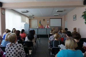 DSC08002 300x199 - Пенсійники Дніпропетровщини обговорили результати діяльності