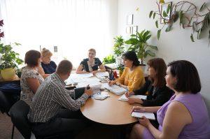 DSC08015 300x199 - Пенсійники Дніпропетровщини обговорили результати діяльності