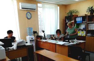 Volnogorsk vstrecha 300x195 - Зустріч з працівниками Вільногірського міського суду
