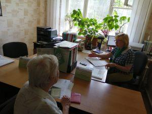 foto 1 300x225 - У Покровському сервісному центрі продовжуються навчання  у  «Школі майбутнього пенсіонера»