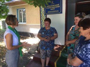 IMG 98ec91b8e0c7e2019306 300x225 - Взято участь у виїзному прийомі громадян у Байдаківській сільській раді, яка входить до Лихвської ОТГ