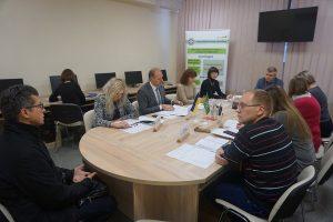 DSC09069 300x200 - Стан погашення заборгованості до Пенсійного фонду України розглядали на засіданні робочої групи
