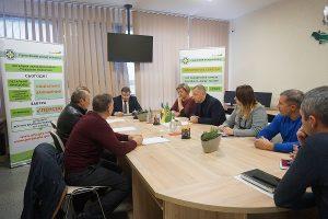DSC01562 1 300x200 - Стан погашення заборгованості до Пенсійного фонду України розглядали на засіданні обласної комісії