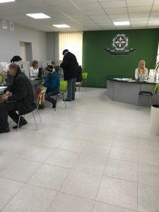 foto Hust 3 225x300 - Як надаються пенсійні послуги на  Хустщині,  керівник пенсійної служби області Анастасія Пентек запитувала безпосередньо у людей