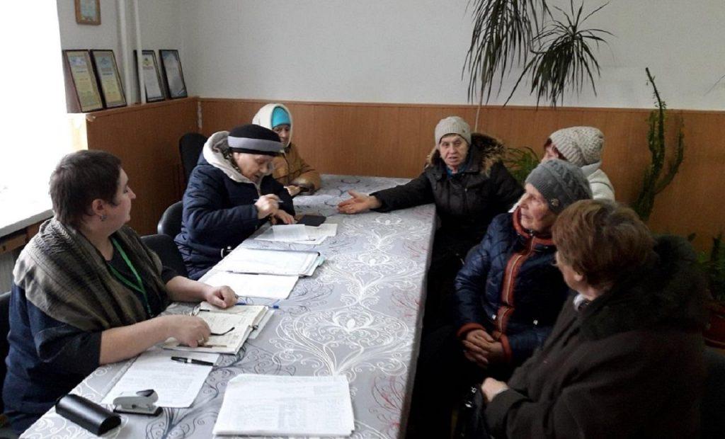 3 12 1024x620 - Виїзний день у с. Риб'янцеве провели пенсійники Марківського об'єднаного управління