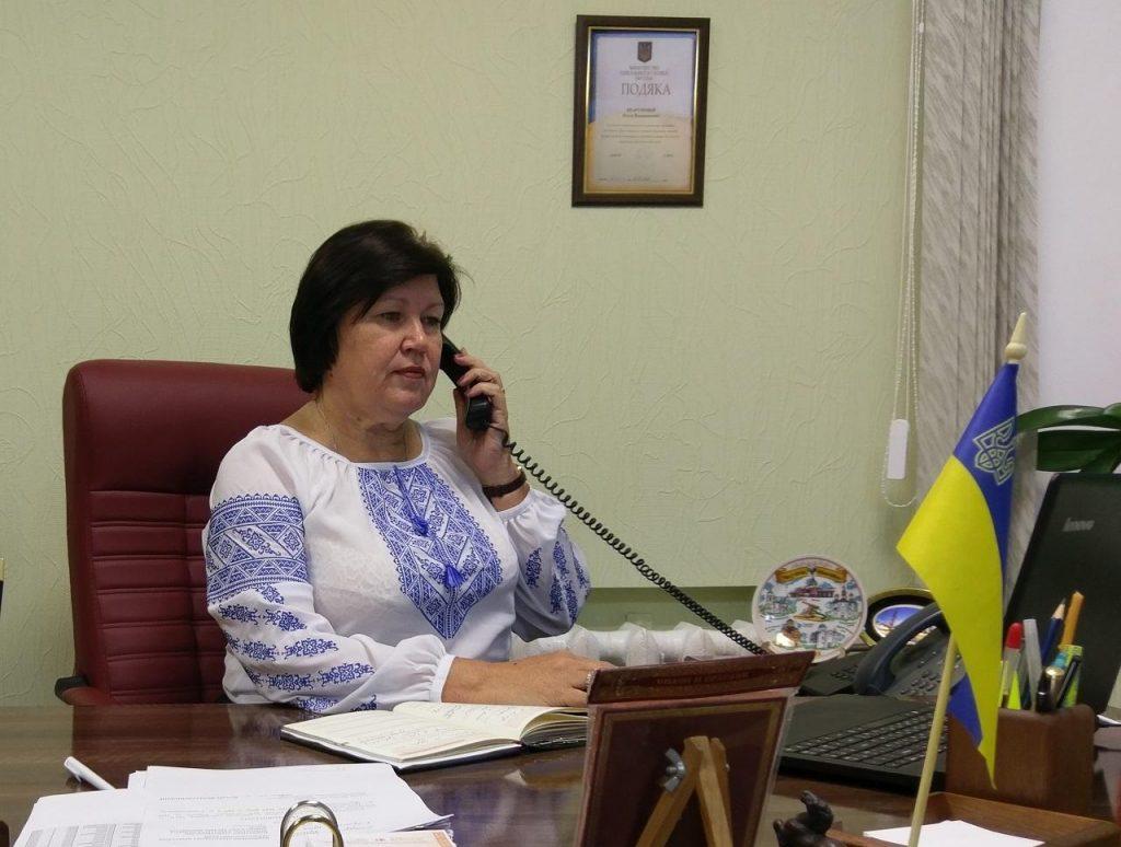 SHarunova gor lynyya VYSHYVANKA 1024x774 - Керівництво Фонду області в телефонному режимі спілкувалося з мешканцями Луганщини