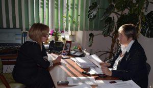 DSC 0753 300x173 - Все про призначення пенсії під час інтерв'ю для газети «За Вільну Україну +»