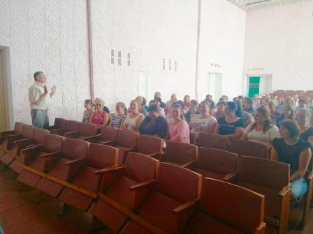 GlybokaJordanesht 12.06 2 - Проводимо зустрічі з трудовими колективами та з населенням за місцем проживання