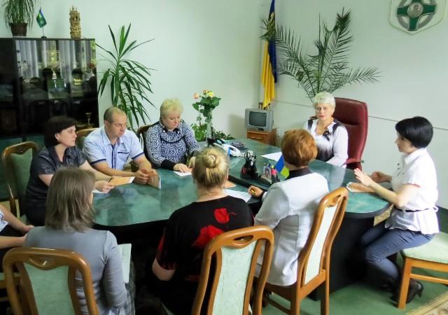 sok z bankamy zustrich - З представниками банківських установ обговорили подальші шляхи співпраці
