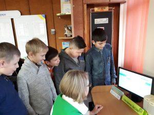 20191217 154217 300x225 - Сучасну молодь знайомлять з електронними сервісами  Пенсійного фонду України